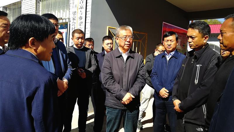 """李正印在临县调研时指出 着力提升""""三基""""建设水平..."""